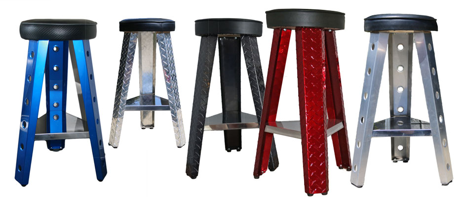 Colorful Shop Stools